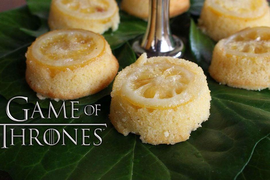 Game of Thrones - Limonlu Kek