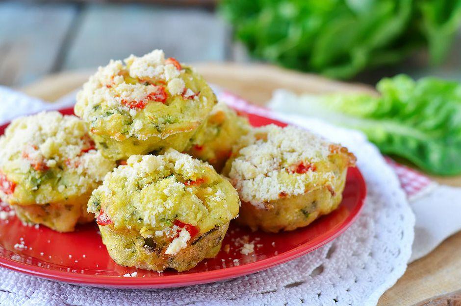 Otlu Muffin Tarifi