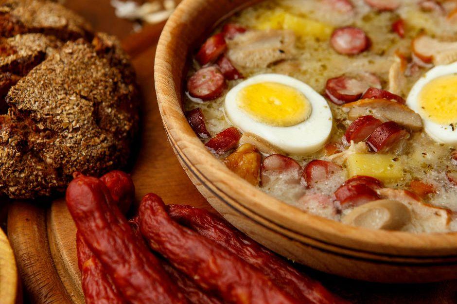 Żurek (Jurek) Çorbası