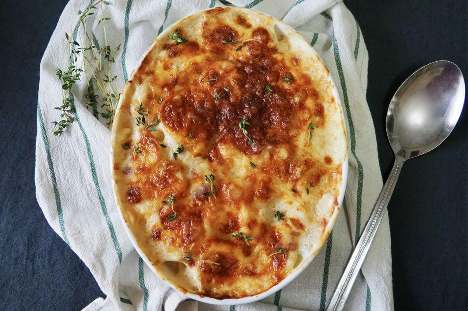 https://yemek.com/tarif/firinda-kremali-patates/ | Fırında Kremalı Patates Tarifi