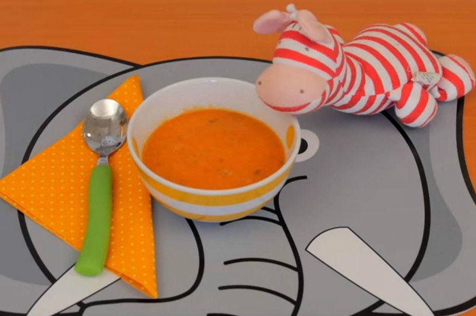 Bebeklere Özel Domates Çorbası Tarifi