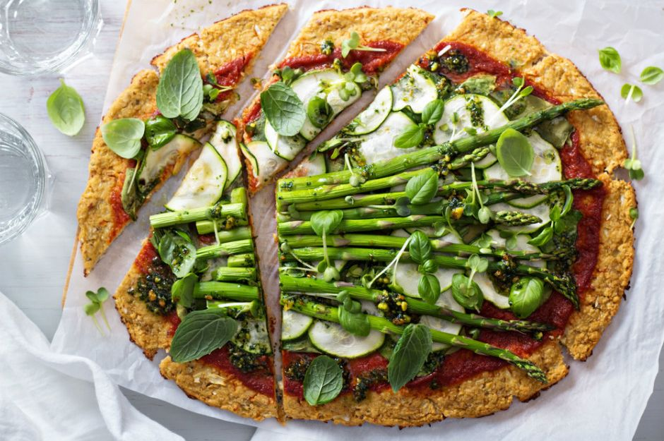 Kuşkonmazlı Karnabahar Pizza