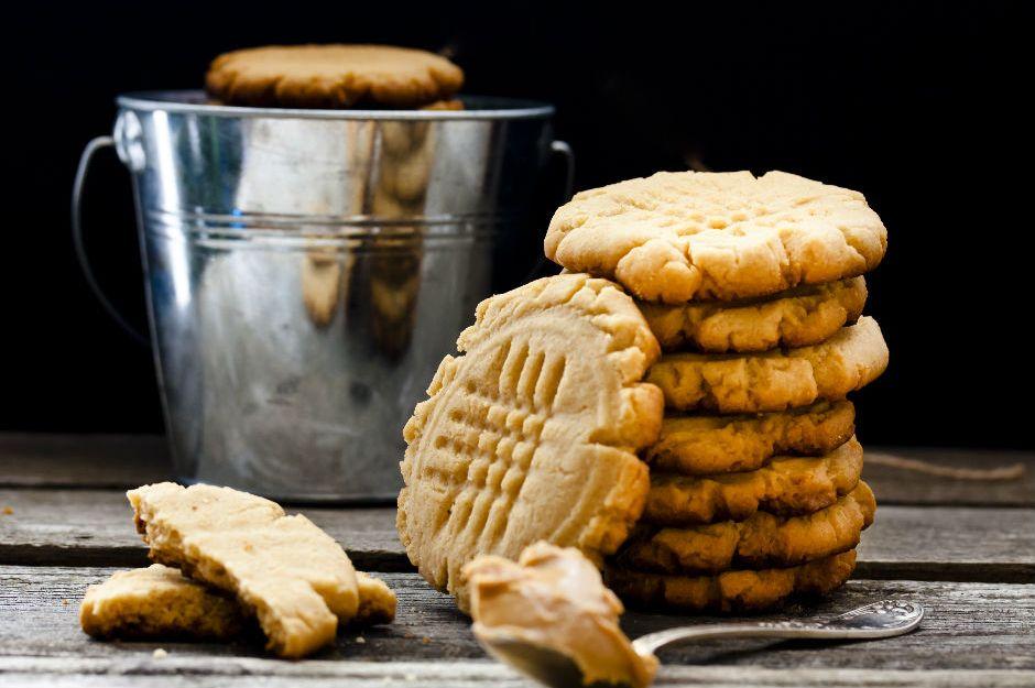 https://yemek.com/tarif/yer-fistigi-ezmeli-kurabiye | Yer Fıstığı Ezmeli Kurabiye Tarifi