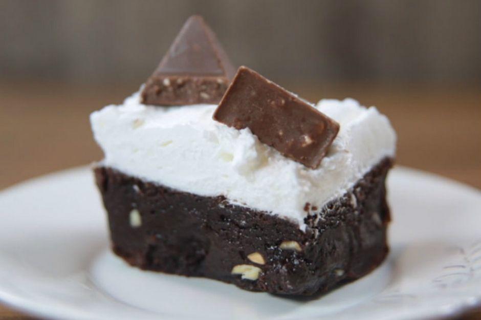 Bademli Toblerone Brownie
