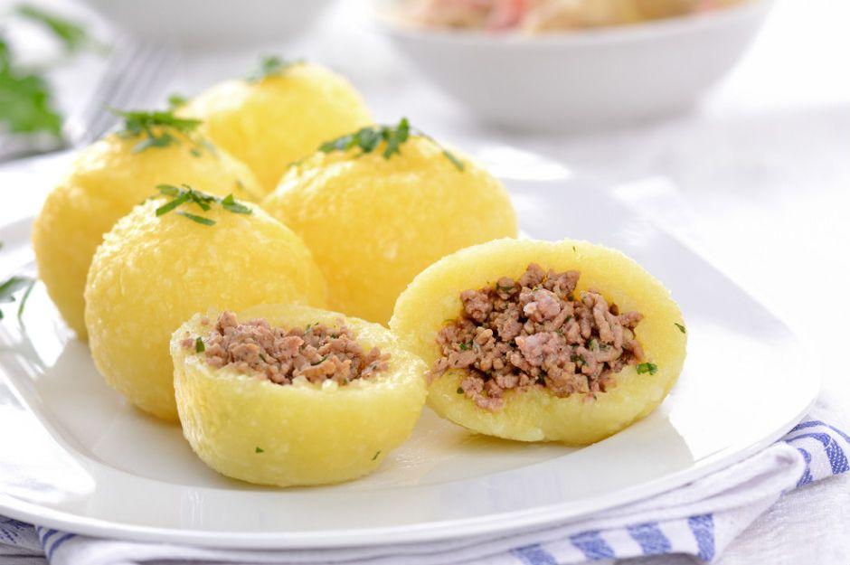 Kıyma Dolgulu Patates Topları