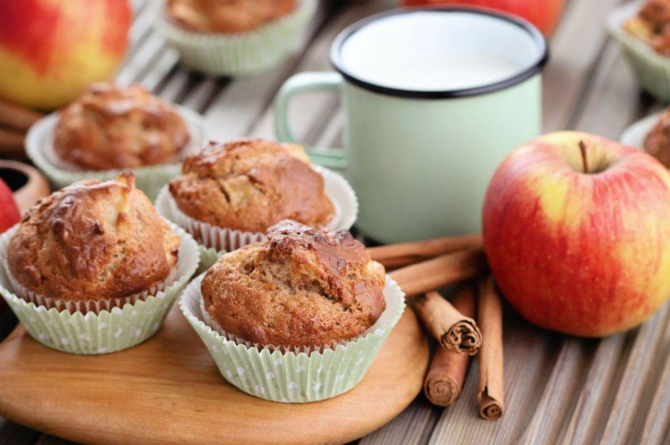 https://yemek.com/tarif/elmali-tahinli-muffin | Elmalı Tahinli Muffin Tarifi