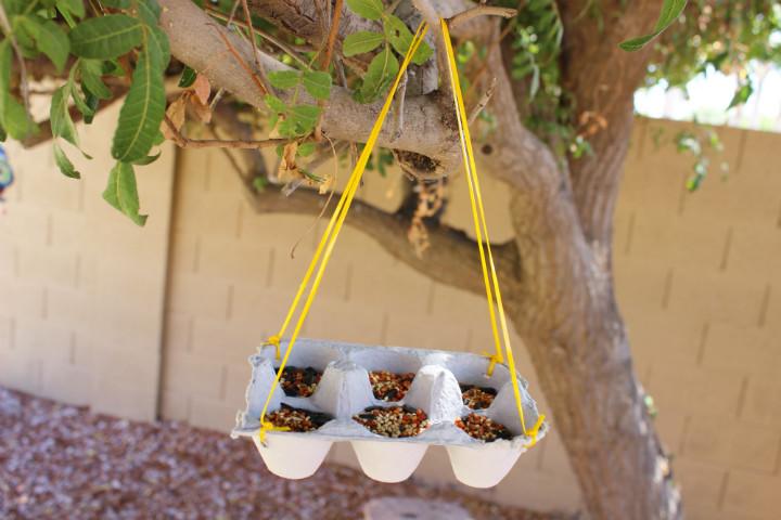 Porselen Fincanlardan Kuş Yemliği Yapımı
