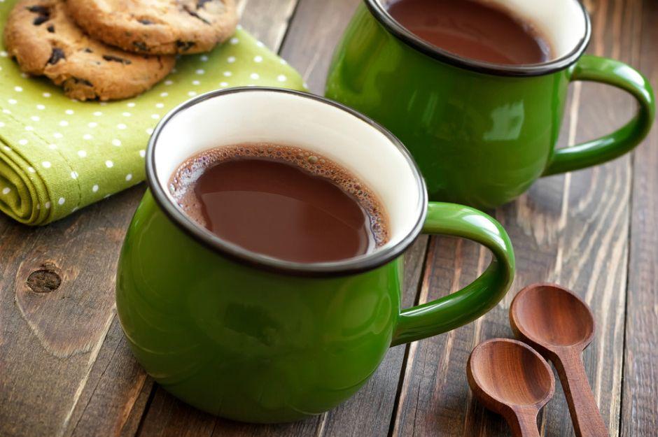 Kahveli Sıcak Çikolata