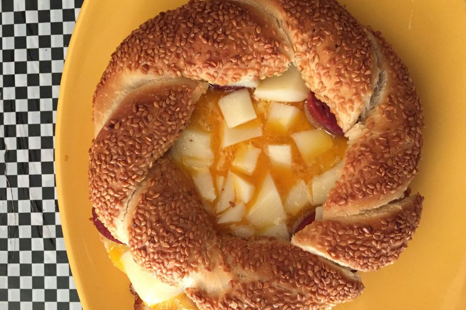 Yumurtalı Simit Tost Tarifi