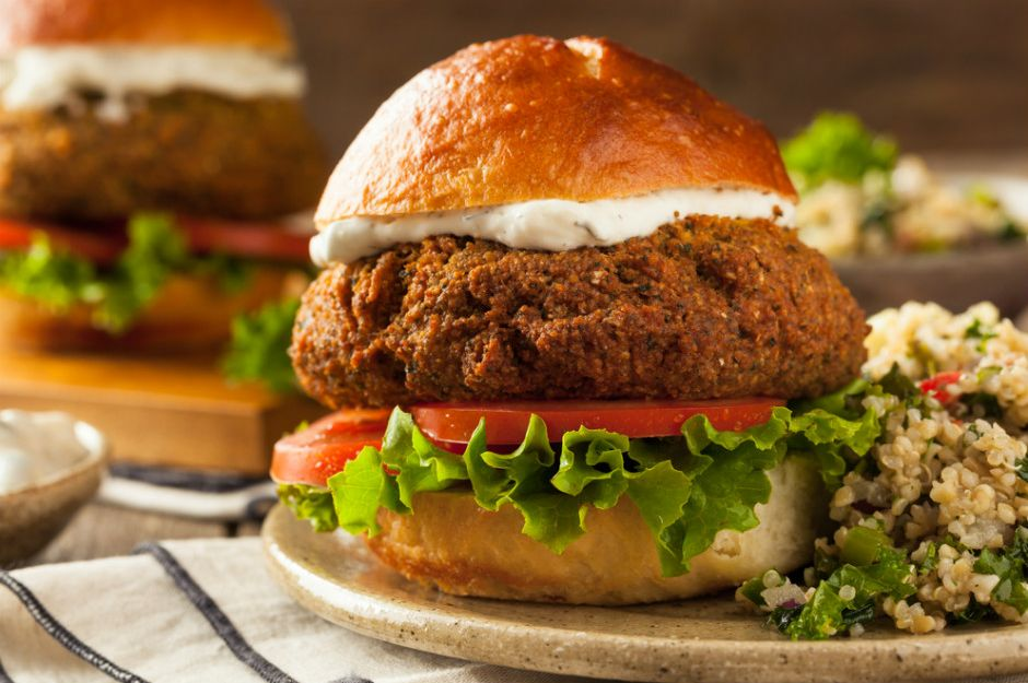 Falafel Burger Tarifi