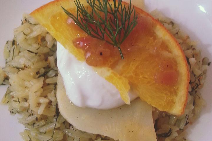Ekşi Kremalı Portakallı Kereviz tarifi