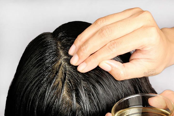 Saç kepeğinden deniz tuzu ile kurtulun