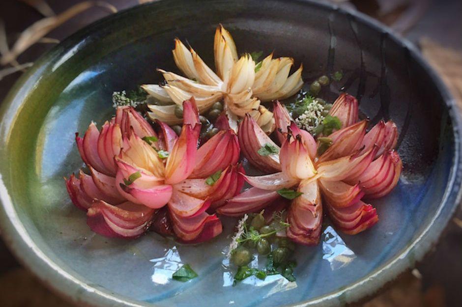 Fırında Çiçek Soğan