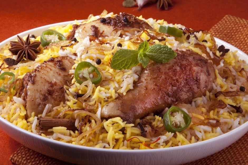 Tavuklu Baharatlı Pilav