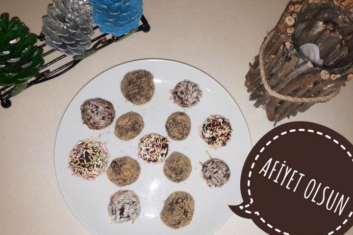 Zencefilli Çikolata Topları
