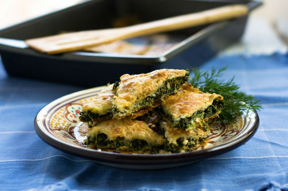 http://littleferrarokitchen.com/2014/01/spinach-feta-borek-turkish-spinach-pie/ |littleferrarokitchen.com