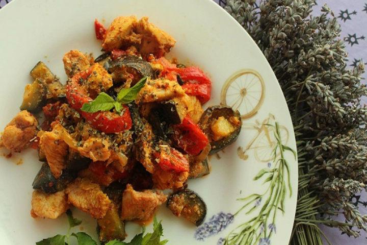 Patlıcanlı Hindi Tarifi