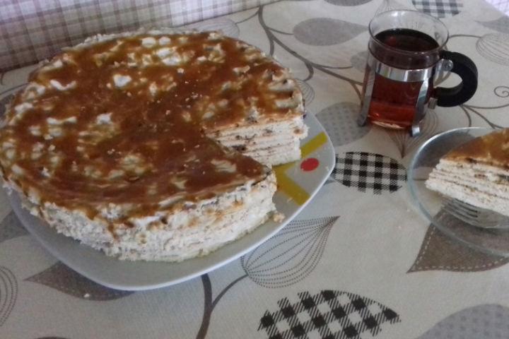 Kesmikli Yufka Pastası Tarifi