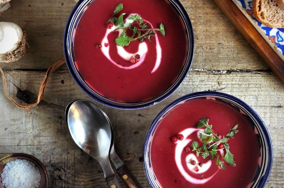 Gökkuşağı Sebze Çorbası
