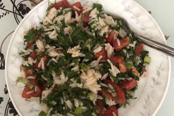 Basmati Pirinç Salatası