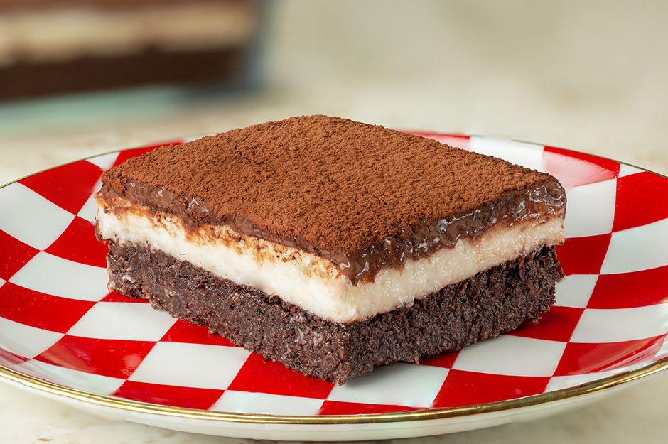 İki Kremalı Islak Kek