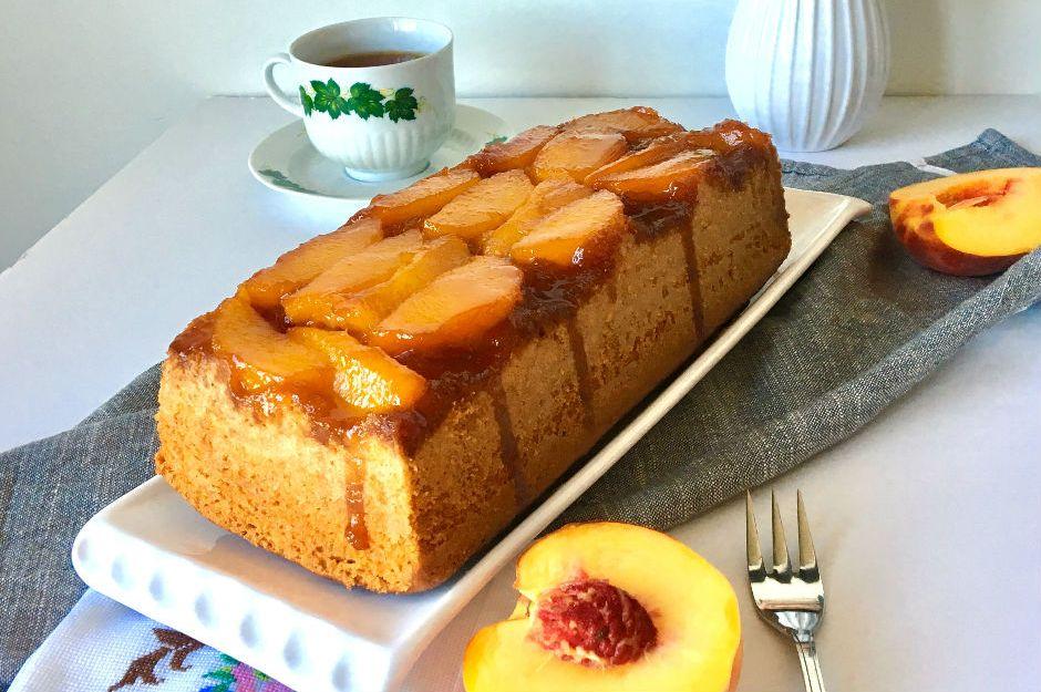 https://yemek.com/tarif/seftalili-tersyuz-kek/ | Şeftalili Tersyüz Kek Tarifi