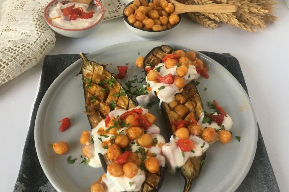 https://yemek.com/tarif/firinda-cizgili-patlican/ | Fırında Çizgili Patlıcan Tarifi