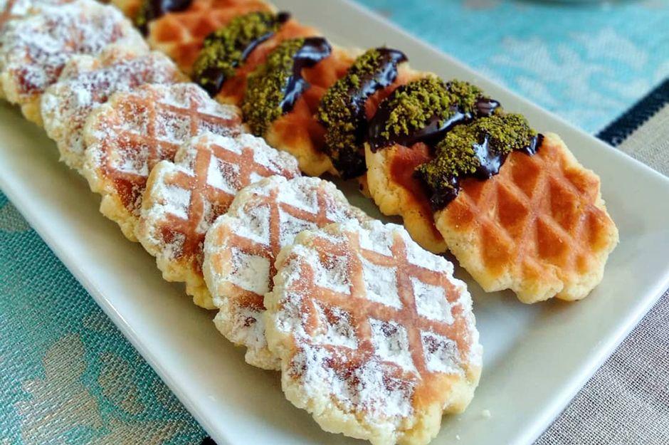 https://yemek.com/tarif/waffle-kurabiye/ | Waffle Kurabiye Tarifi