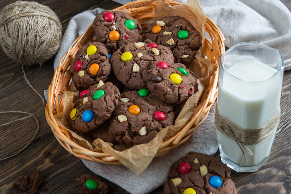 Çikolatalı Bonibonlu Kurabiye Tarifi