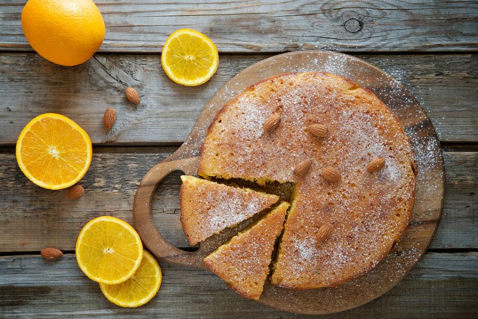 Cevizli Portakallı Kek Tarifi