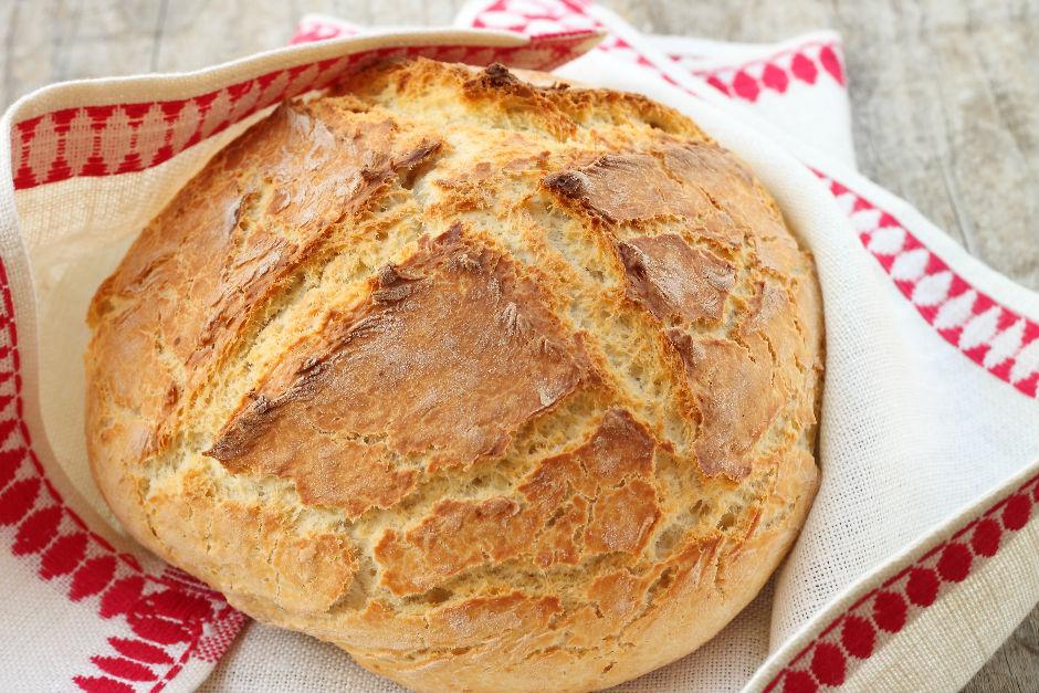 Mayasız Ekmek Tarifi