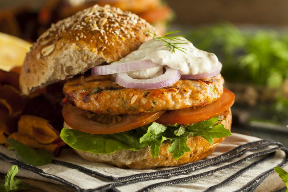 Somon Burger Tarifi