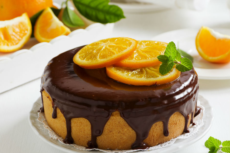 cikolatali-portakalli-kek