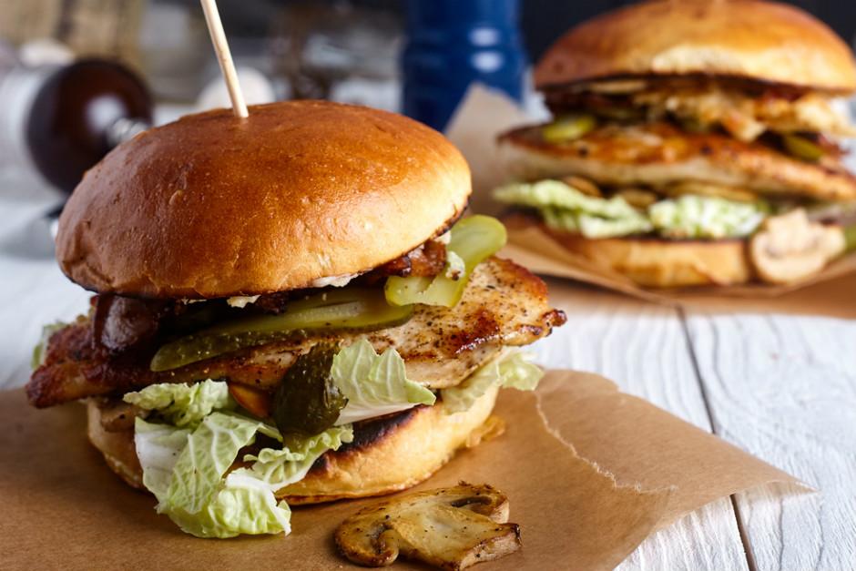 Izgara Tavuk Burger Tarifi