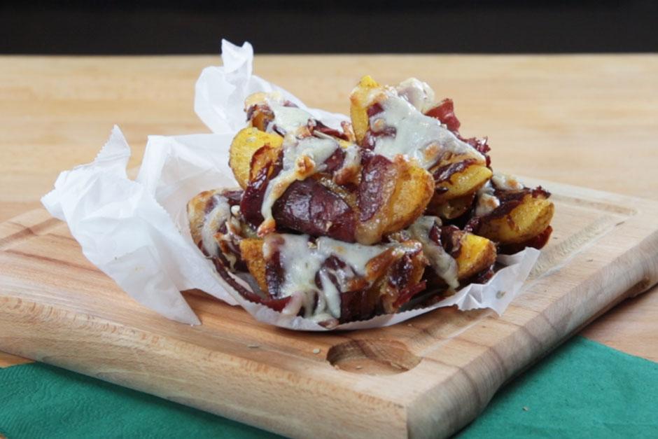 Pastırmalı Baharatlı Patates Tarifi