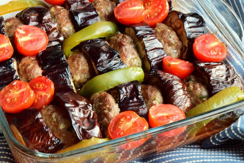 Fırında Etli Patlıcan Kebabı Nasıl Yapılır Video 23