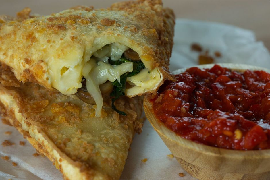 Ispanaklı Mantarlı Lazanya Böreği Tarifi