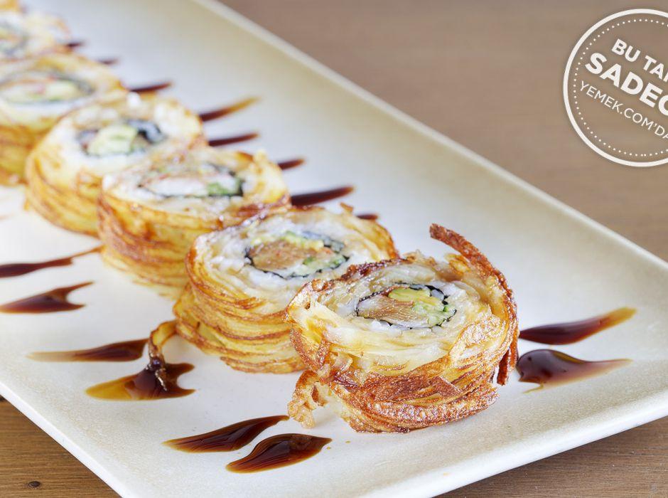Tornado Crab Roll Sushi Tarifi