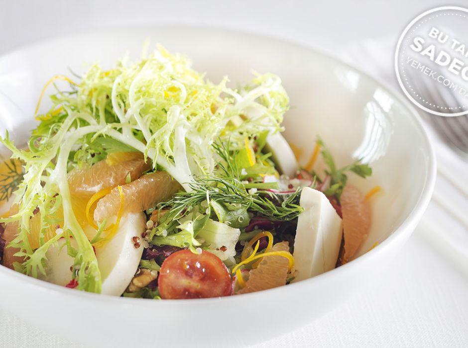 Lacivert Kinoa Salatası Tarifi