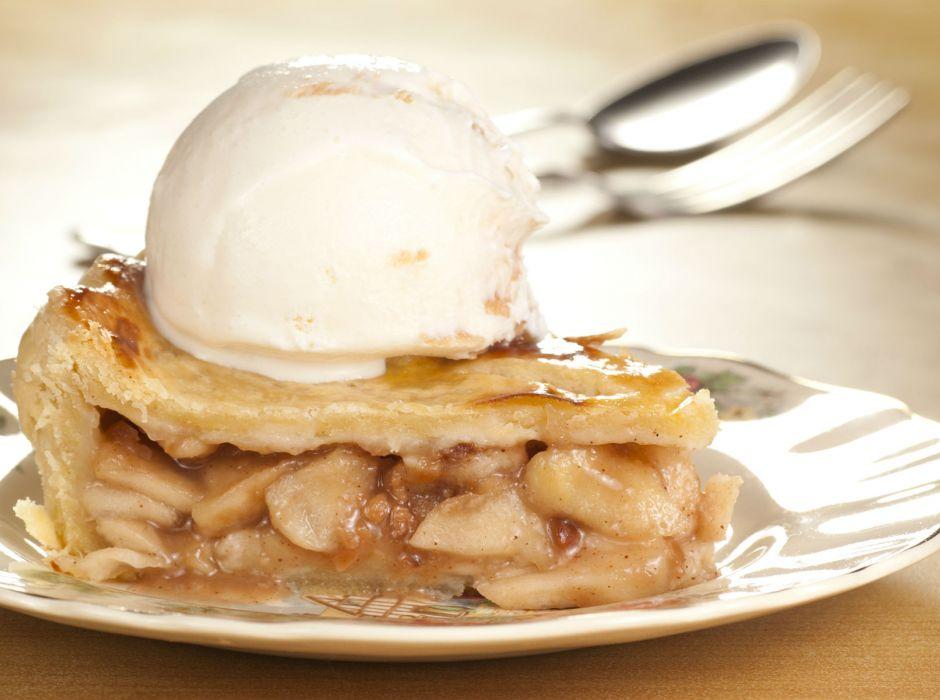 elmalı tart fotoğrafı