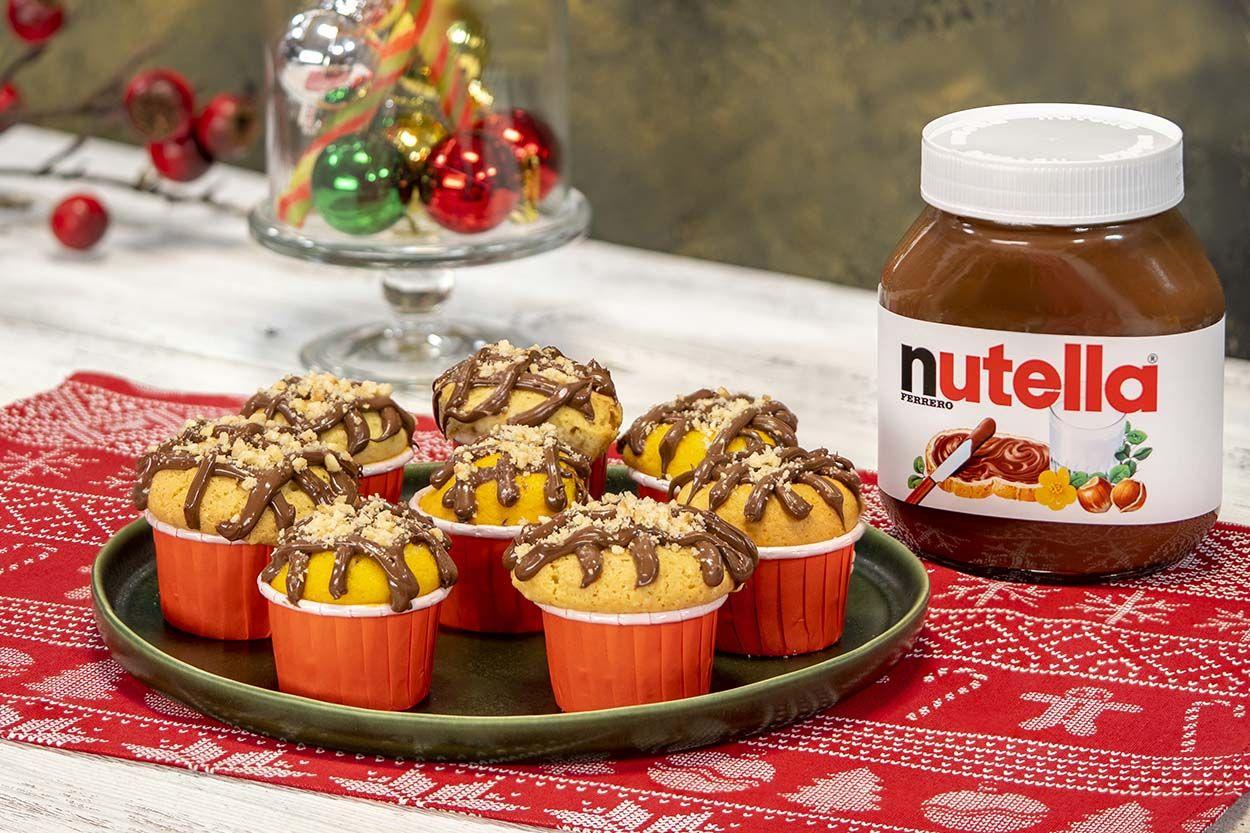 Dilediğinden Başla: Nutella'lı 3'lü Mini Muffinler Tarifi