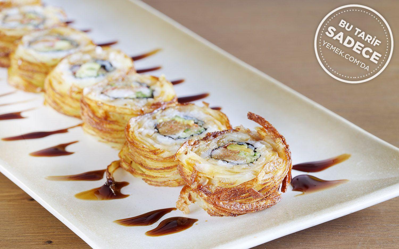 https://yemek.com/tarif/yada-sushi-tornado-crab-roll/   Fotoğraf: Özgür Bakır / Tornado Crab Roll Sushi Tarifi