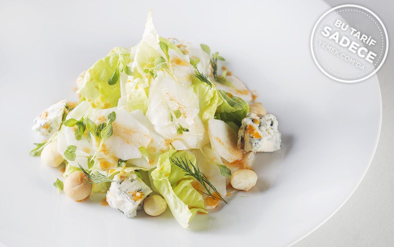 https://yemek.com/tarif/parle-yer-elmasi-salatasi/ | Yer Elması Salatası Tarifi
