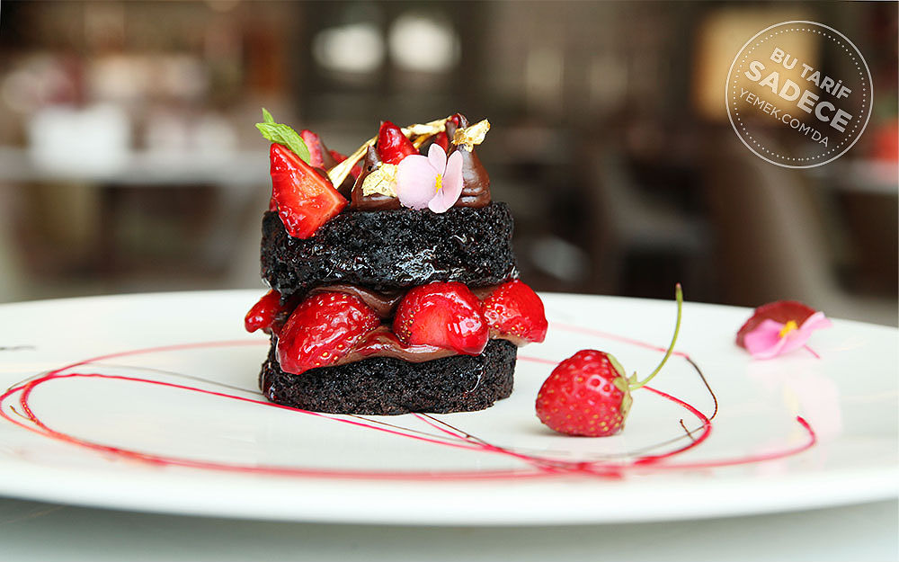 Grand Tarabya Cafe Read Brownie