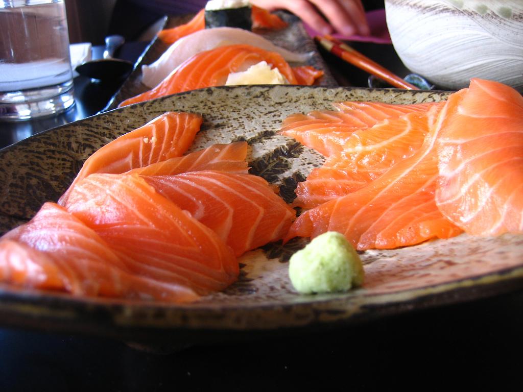 sashimi - flickr/adactio