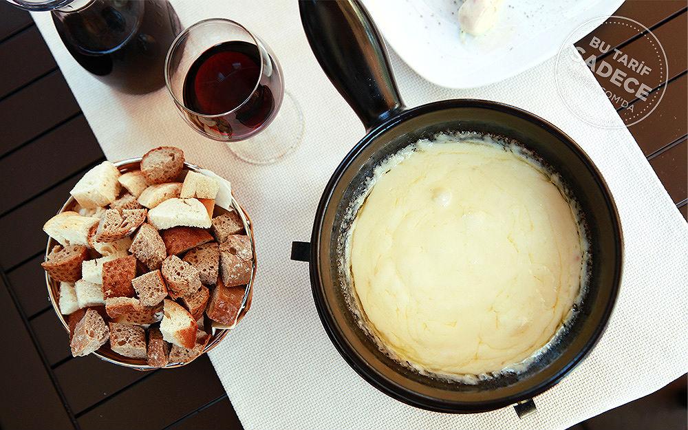 Crepe Fondue Peynir Fondü