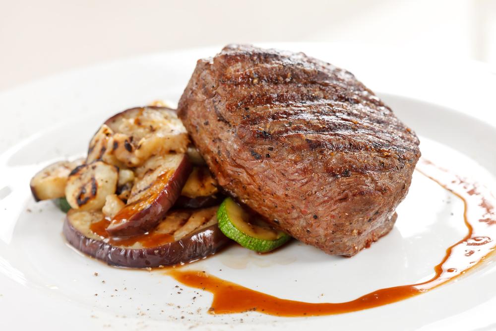 Izgara Sebzeli Marine Biftek