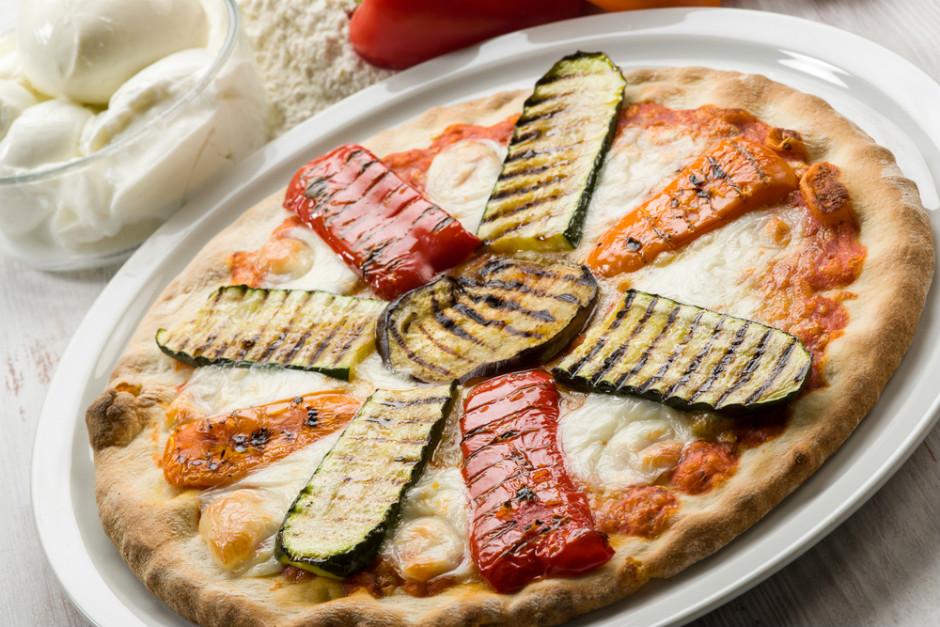 Izgara Sebzeli Pizza Tarifi
