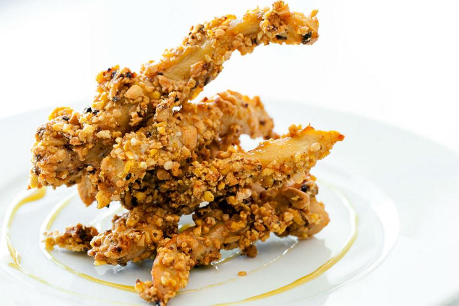 Kuru Yemişli Çıtır Tavuk Tarifi