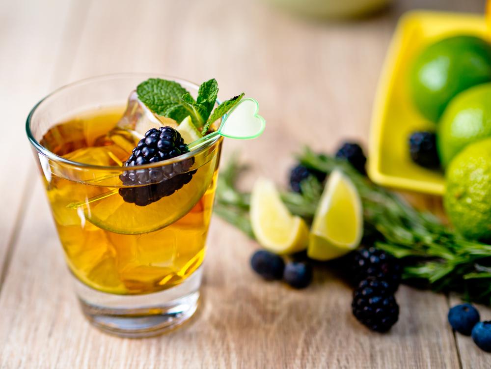 Lime Dilimli Buzlu Yeşil Çay